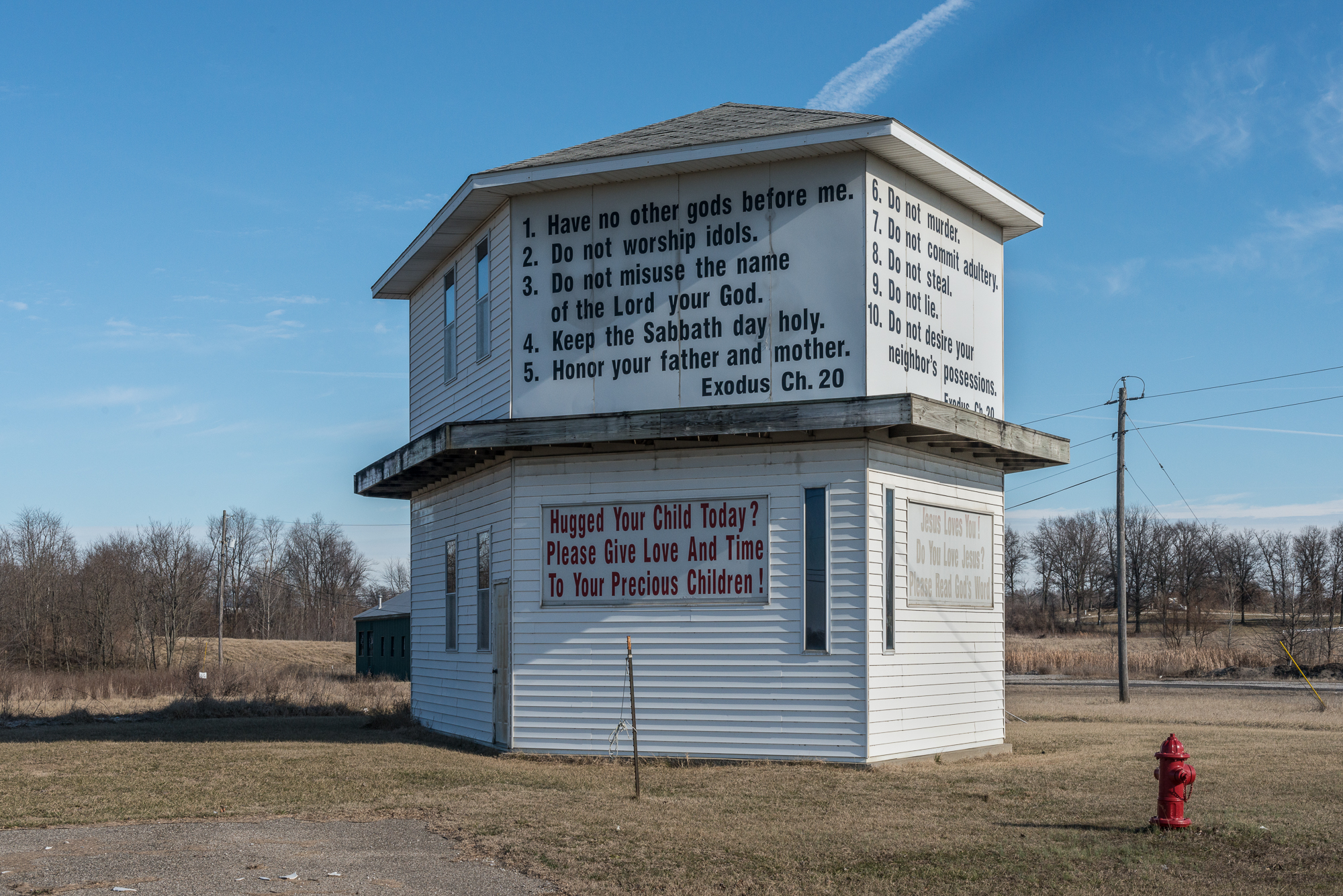 Commandments, Bicknell, Indiana, 2017