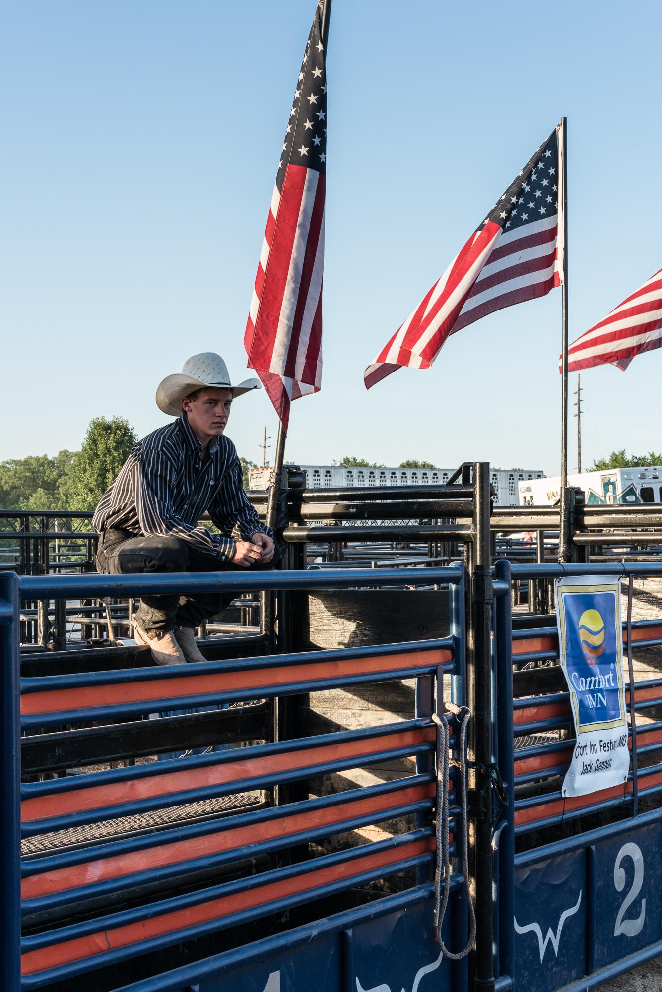 Cowboy, Hillsboro, Missouri, 2017
