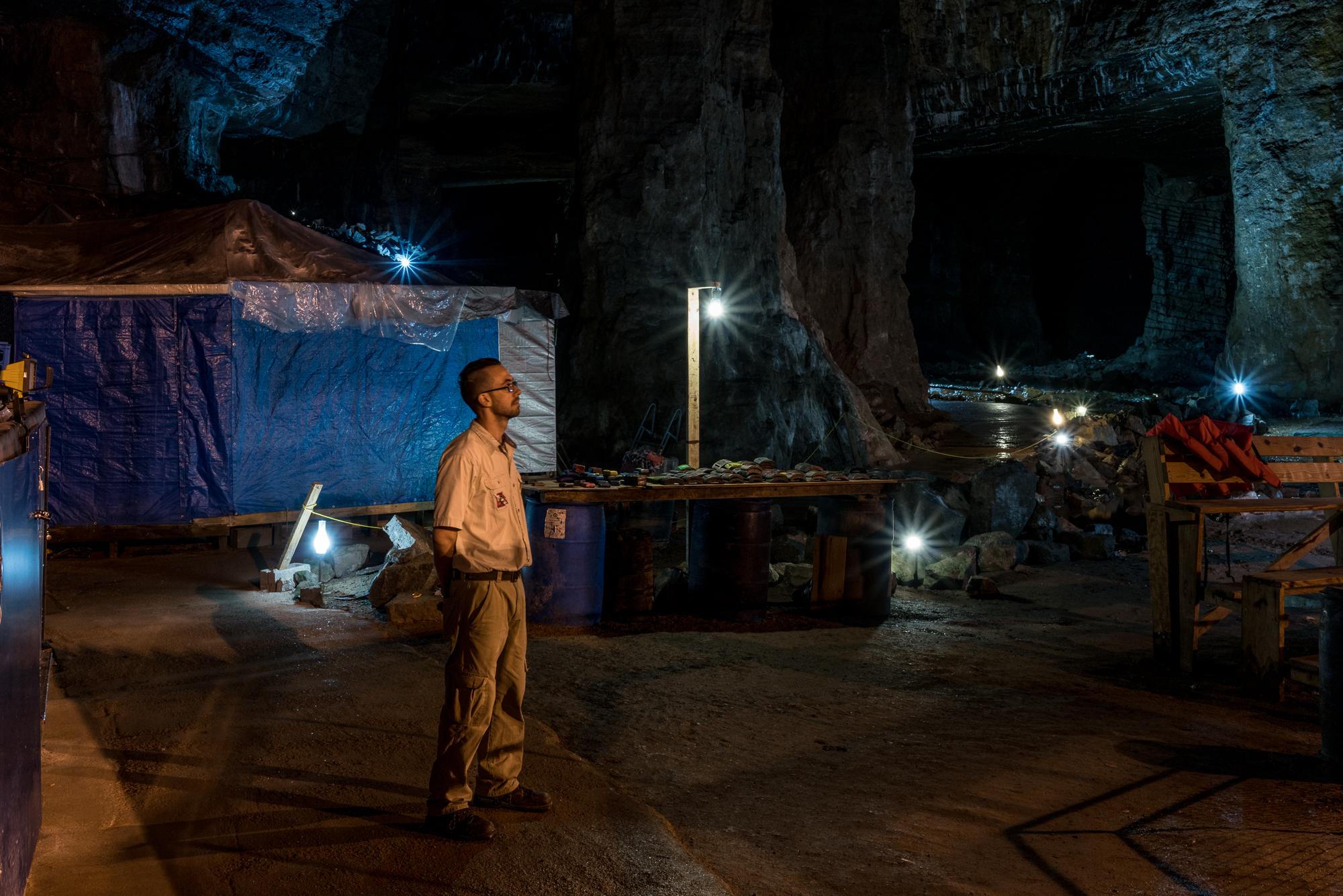 Mark, Bonne Terre Lead Mine, Missouri, 2017