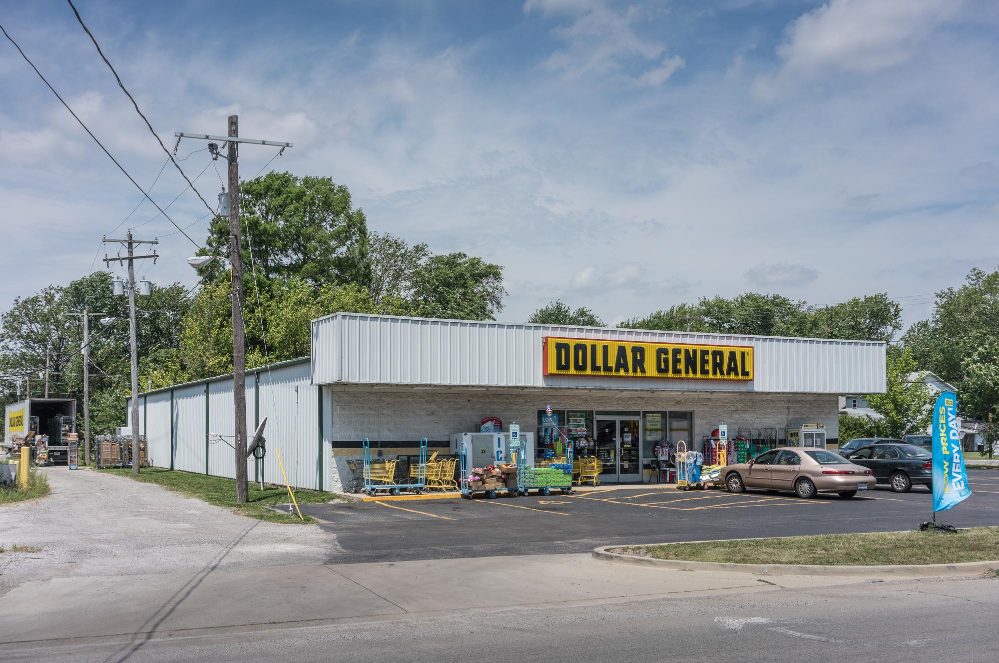 Dollar General, Sandoval, Illinois, 2017