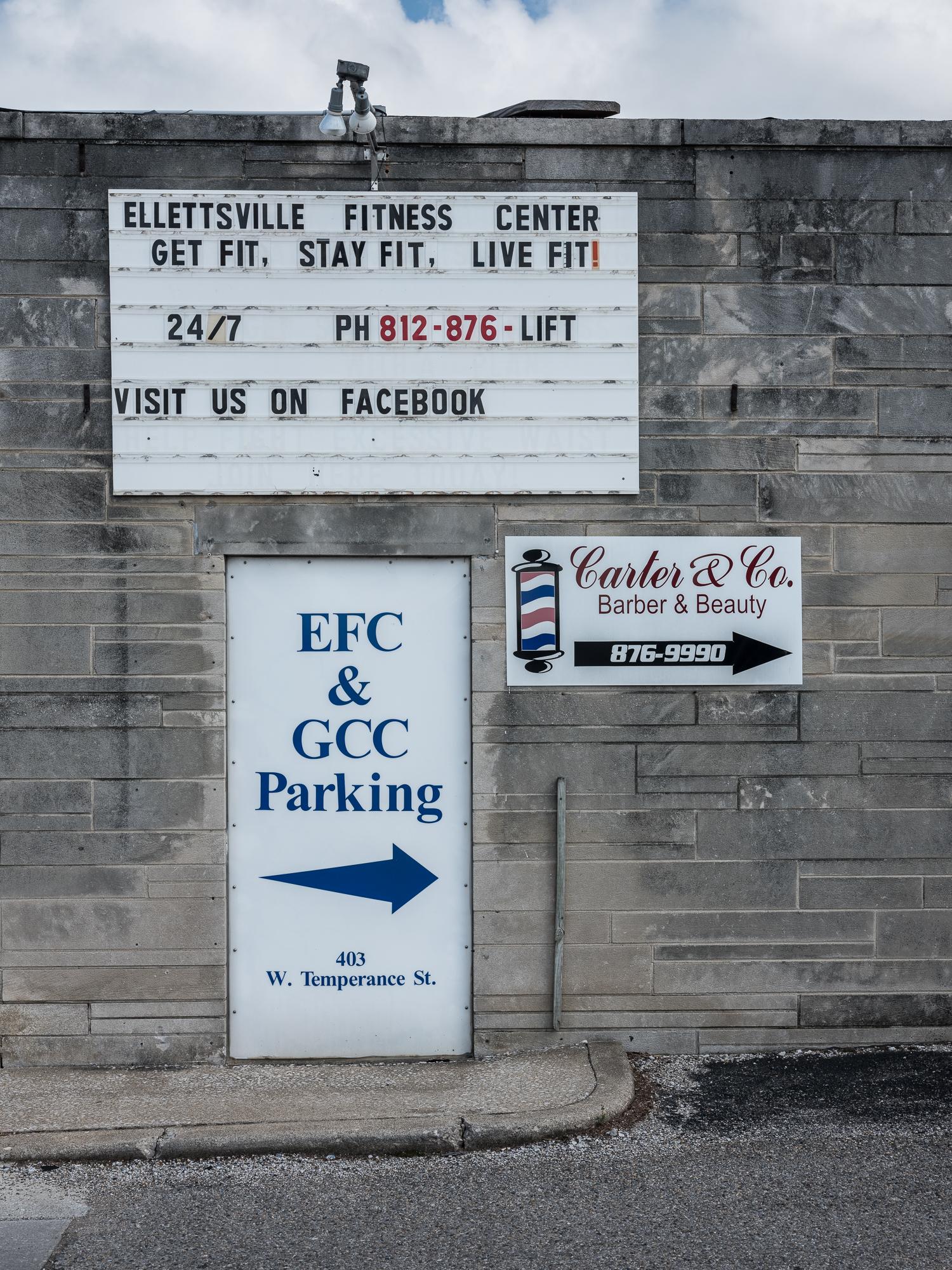 Fitness Center, Ellettsville, Indiana, 2018