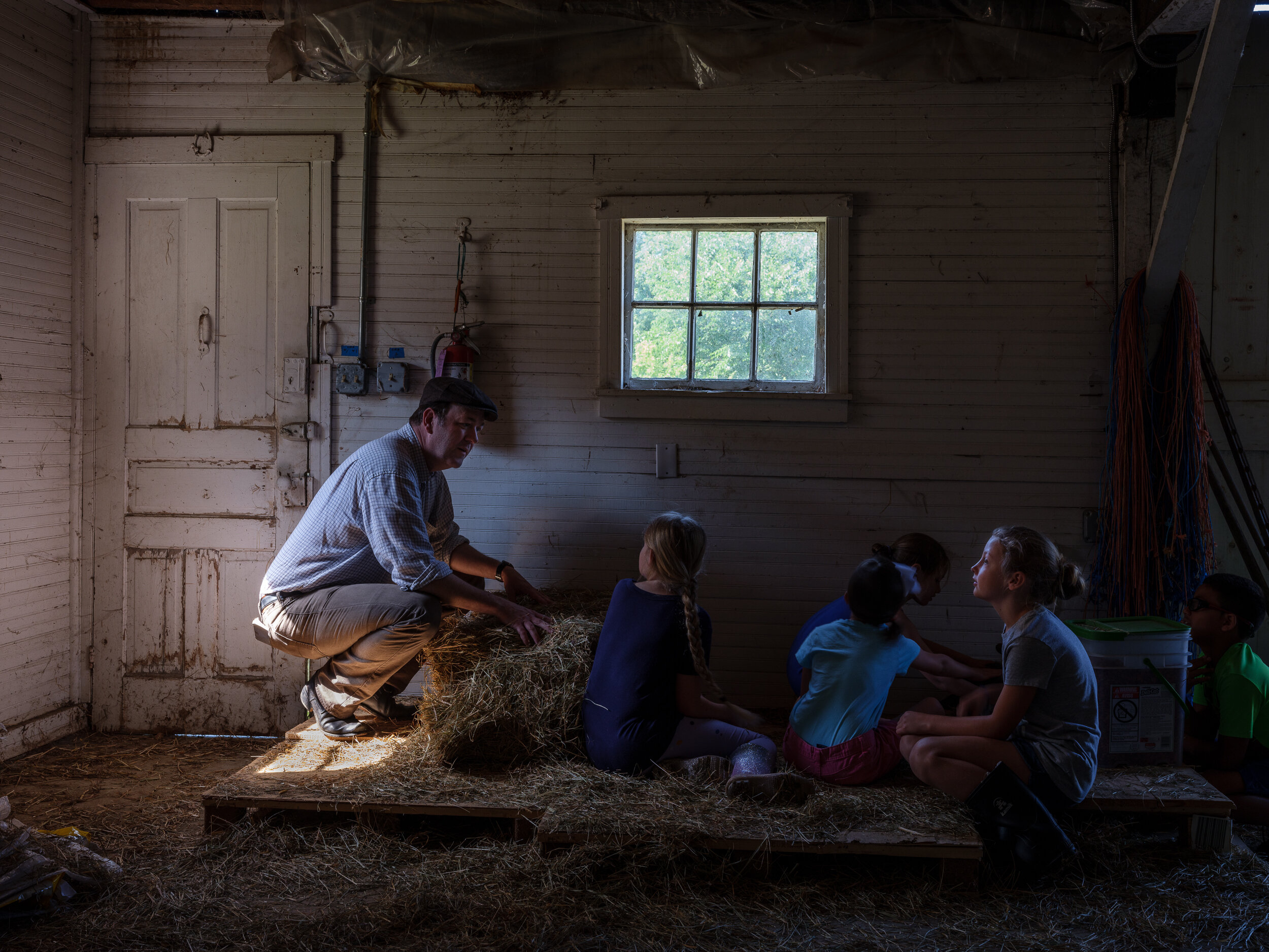 Colonial Camp at the Sheep Farm, Waterford, Virginia, 2019