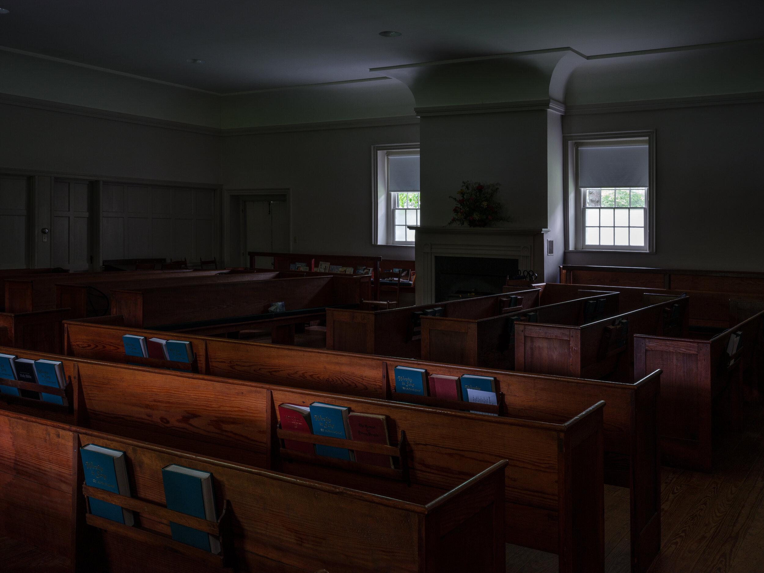 Goose Creek Friends Meeting House, Lincoln, Virginia, 2019