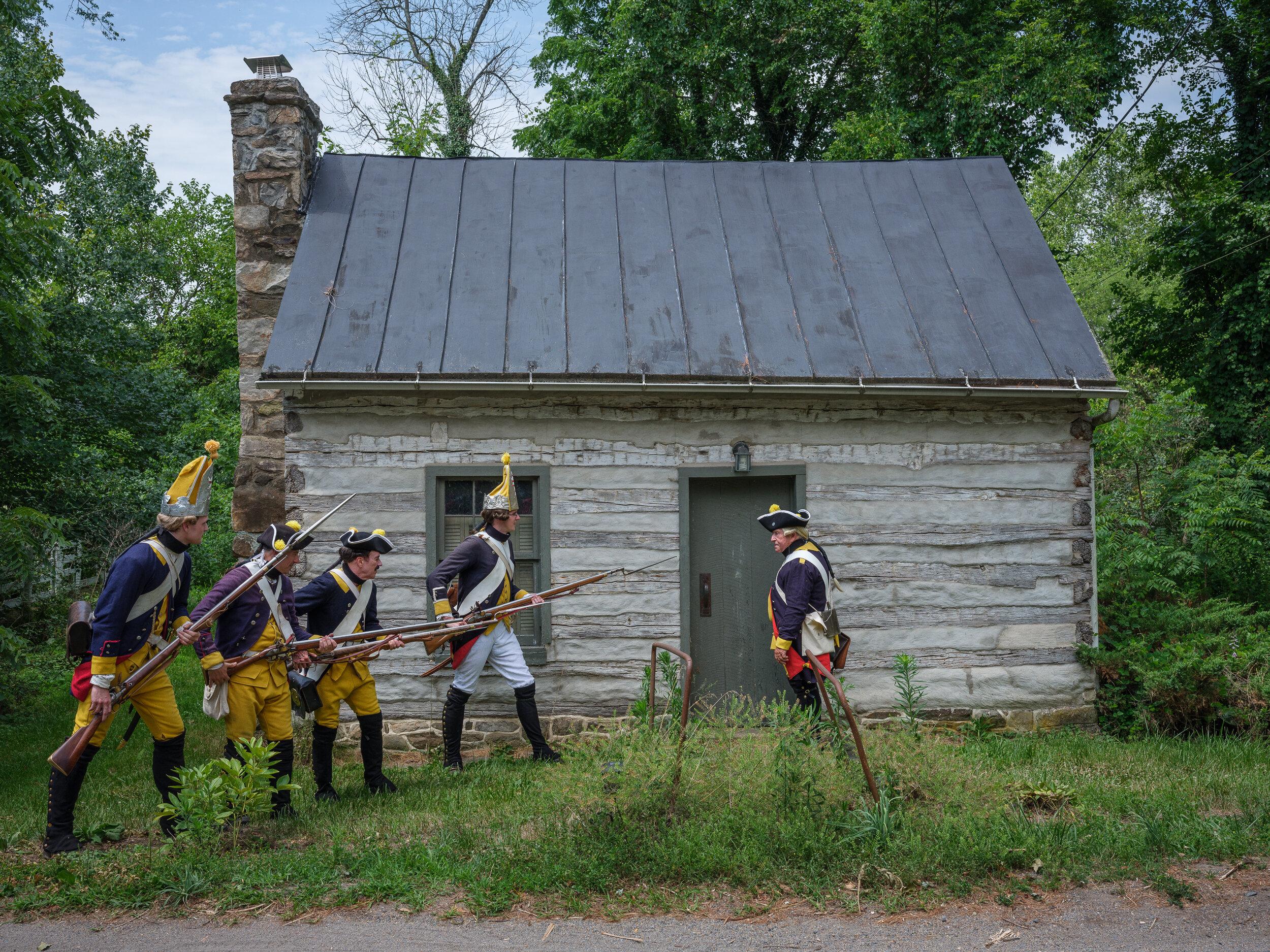 Regiment Von Huyn Breaching, Waterford, Virginia, 2019