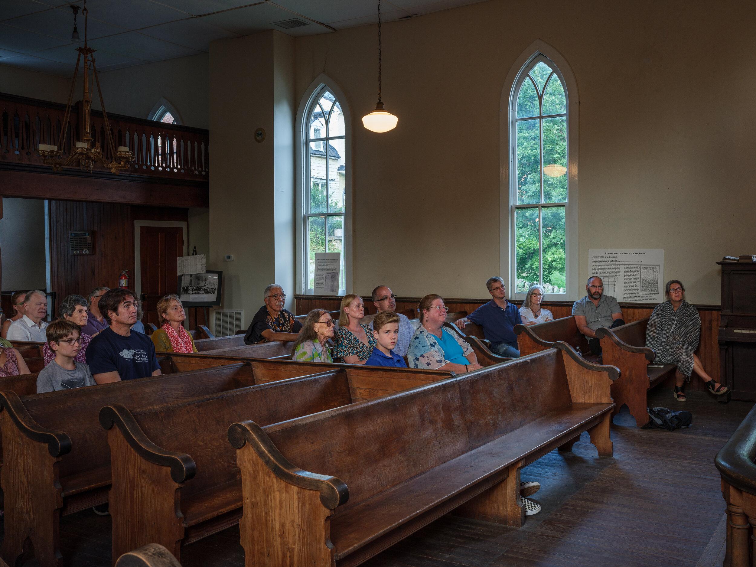 Congregation, Waterford, Virginia, 2019