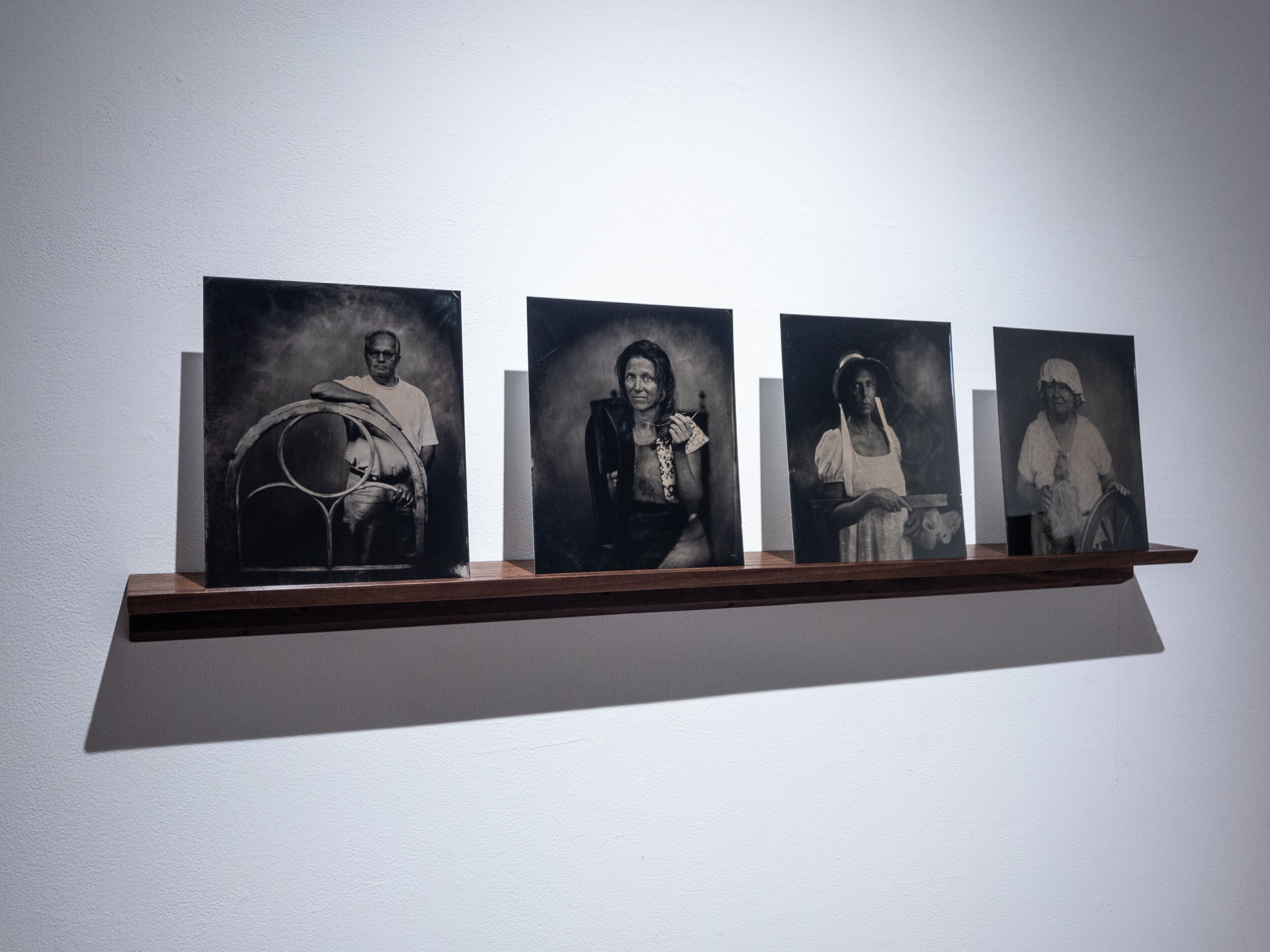 Waterford Tintypes, in Collaboration with Jay Gould, 2019
