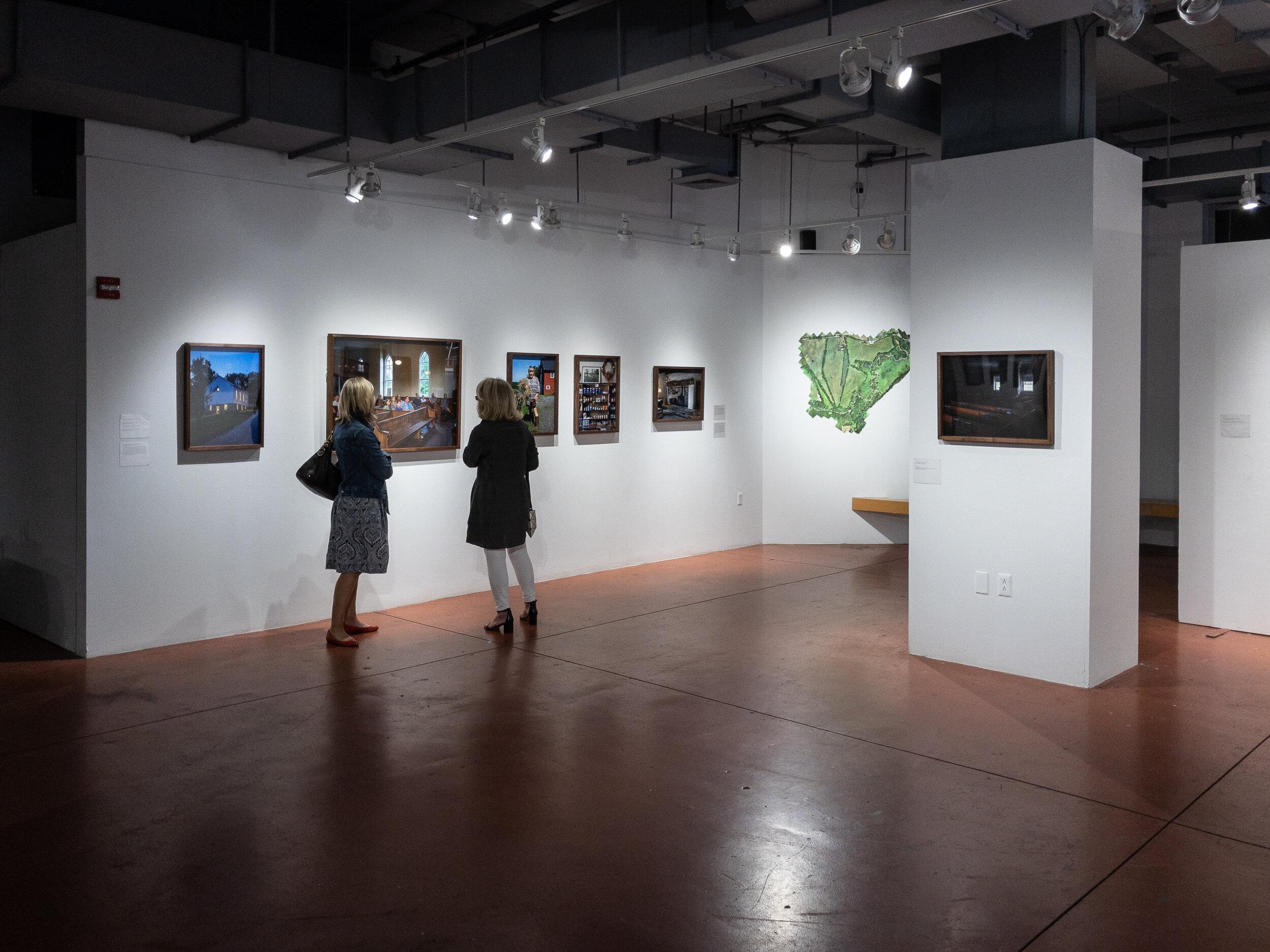 Installation at the Greater Reston Arts Center, 9/28/19 – 1/4/20