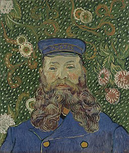 Retrato del cartero Joseph Roulin, 1889 Vincent van Gogh