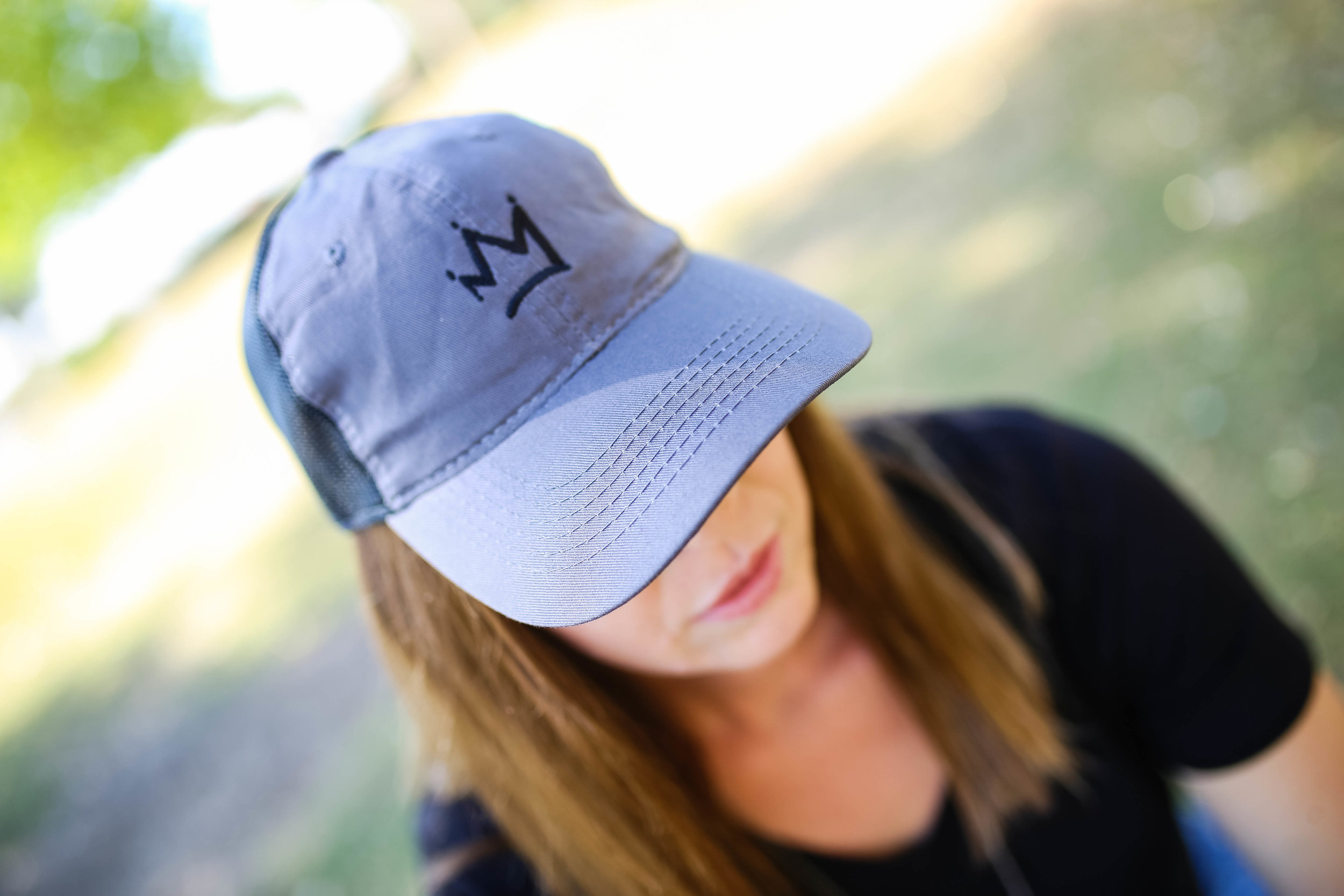 Crown Trucker Hat | Raw Sugar Writes