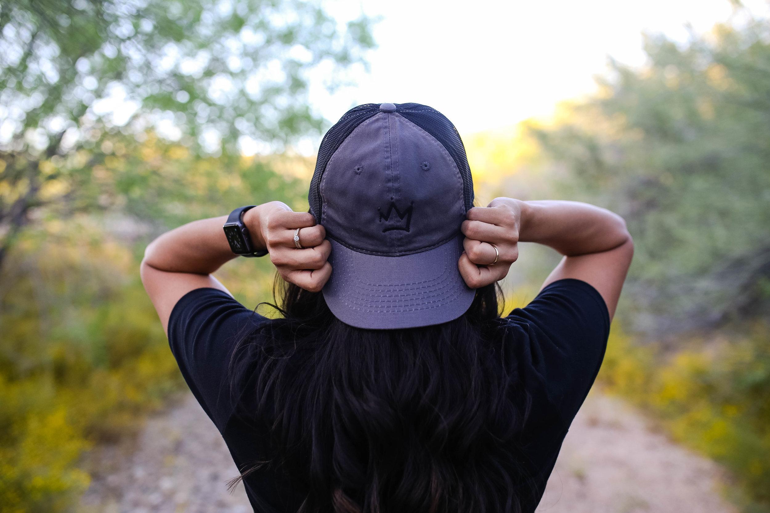 Raw Sugar Writes Crown Trucker Hat