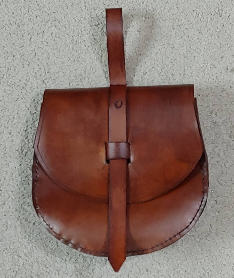 Birka Belt Bag : based on historic finds from the archaeological site of Birka.