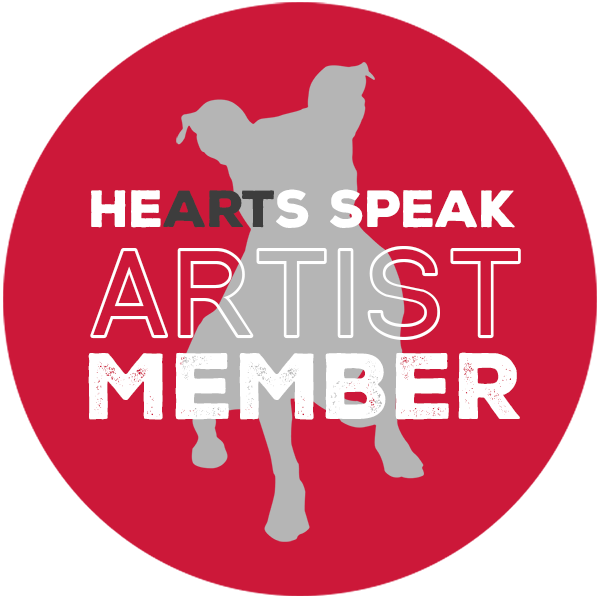 Vue.Dog | Dog Photography | Proud to be a artist member of Hearts Speak