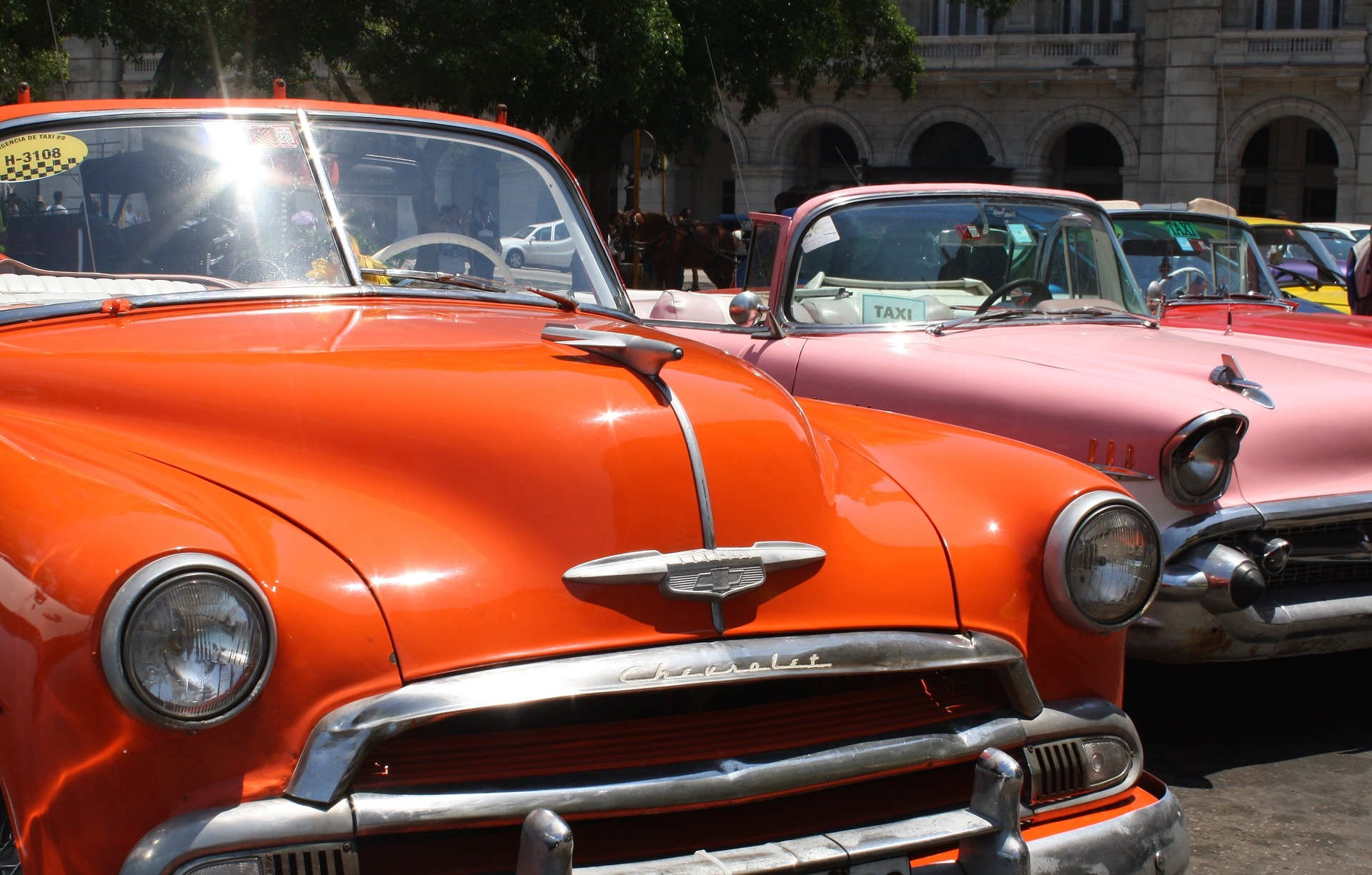 Taxis in Cuba