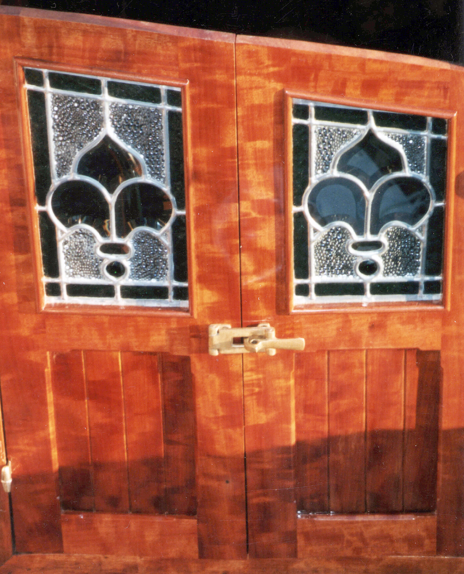 custom stained glass,door and details