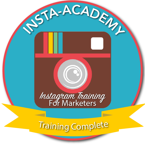 Completed #InstaAcademy during Inaugeration year, 2015. Taught by Sue B Zimmerman and Jenn Herman.