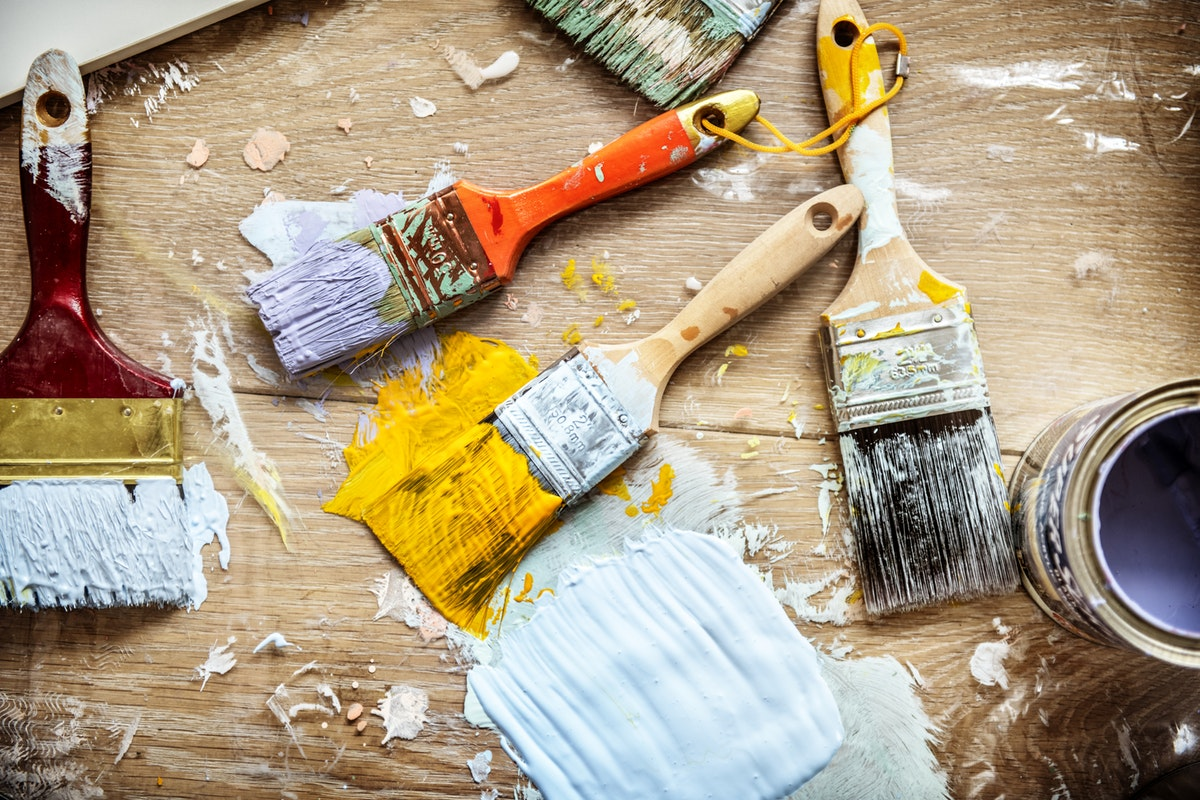 Remodeling your own home or helping someone with repairs. Volunteer for Habit for Humanity (T) (Rawpixel)