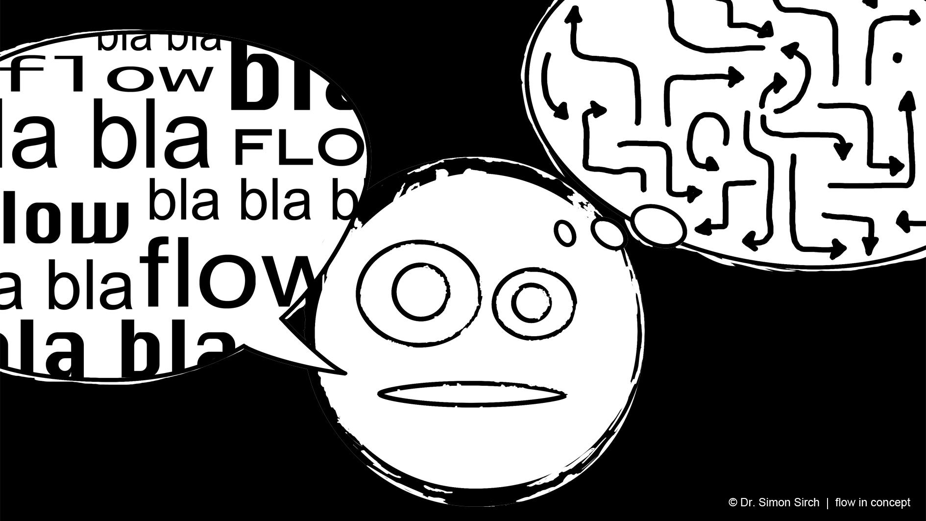 """Das Wort """"flow"""" erfährt eine Inflation. flow in concept klärt auf. Zum Beispiel im  Blog ."""