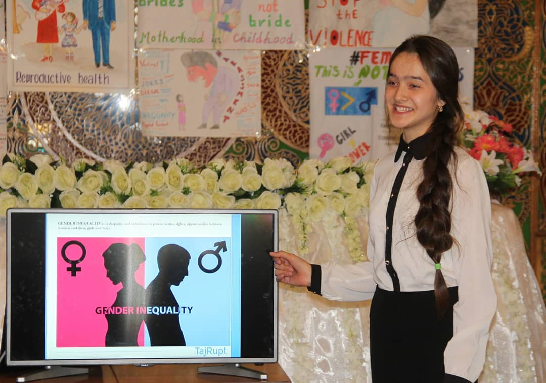 Gender Equality & Empowerment - More than 30 participants aged 15-22 have been trained as gender equality activists in HerStory