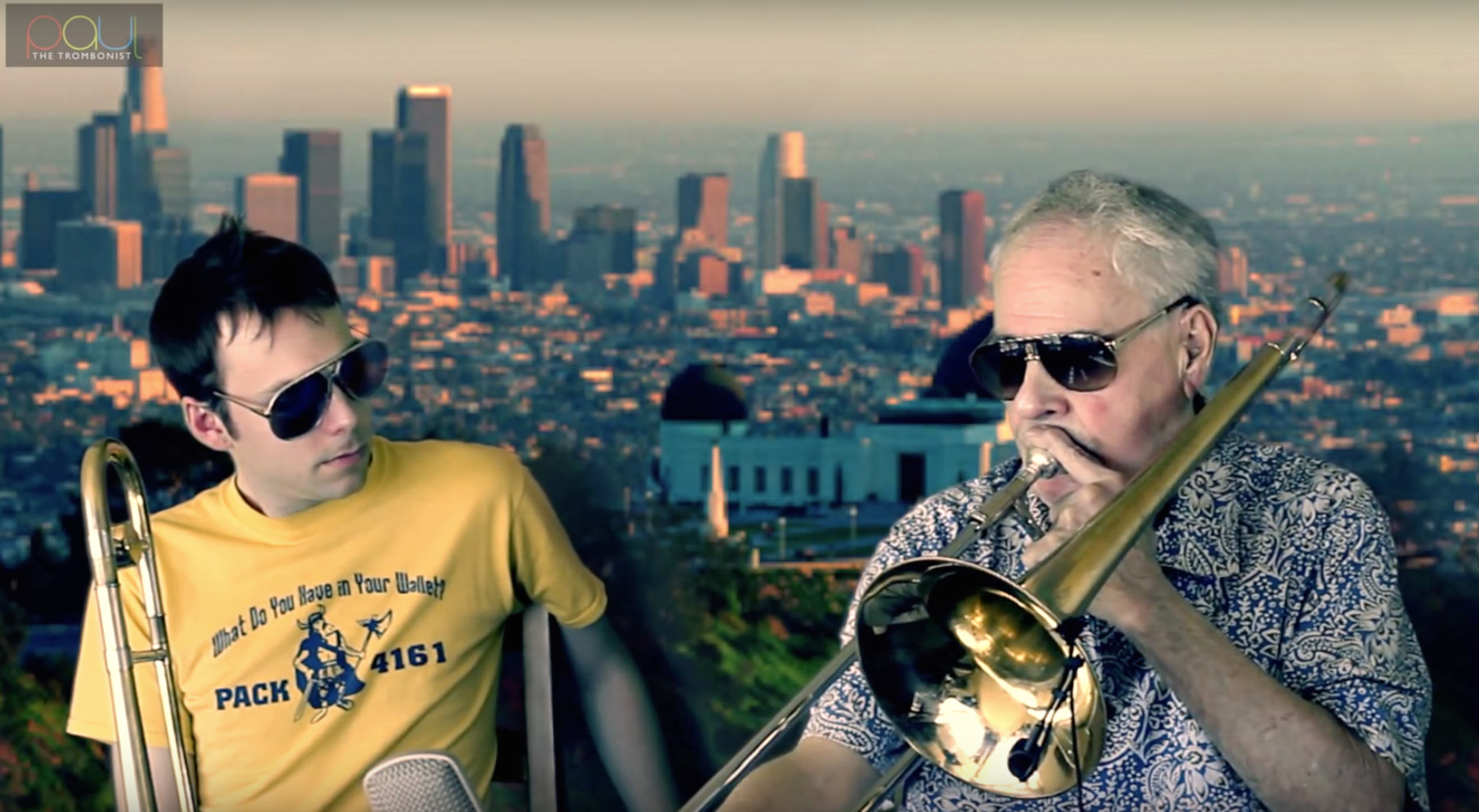 """Image from Phil Wilson and Paul The Trombonist Video Series  I release this image to """"Creative Commons Attribution 4.0"""" for free commercial and non commercial use"""