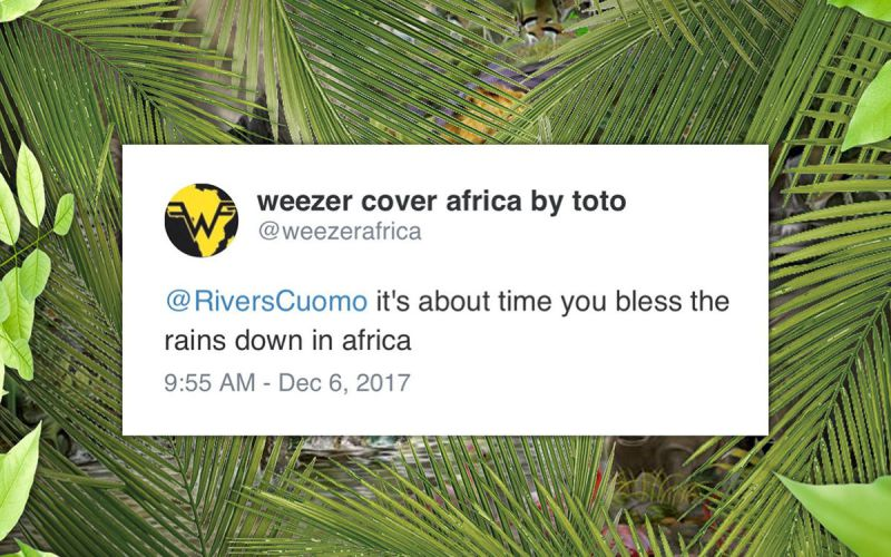Weezer 'Africa' Cover, The Social Consultant