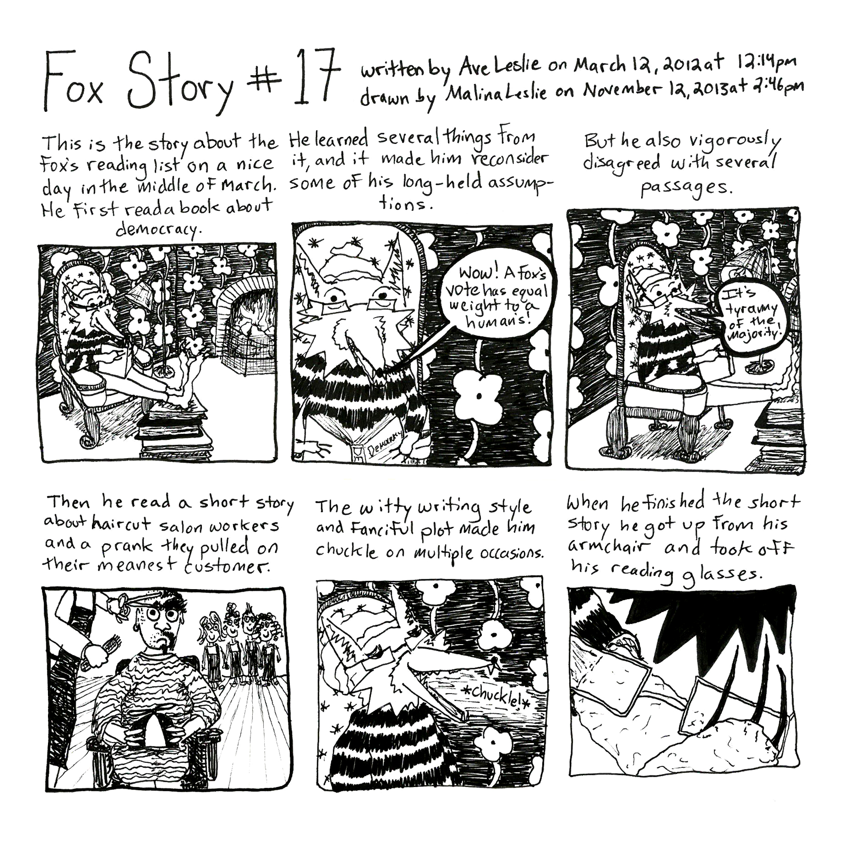 Fox Story 17 Part 1