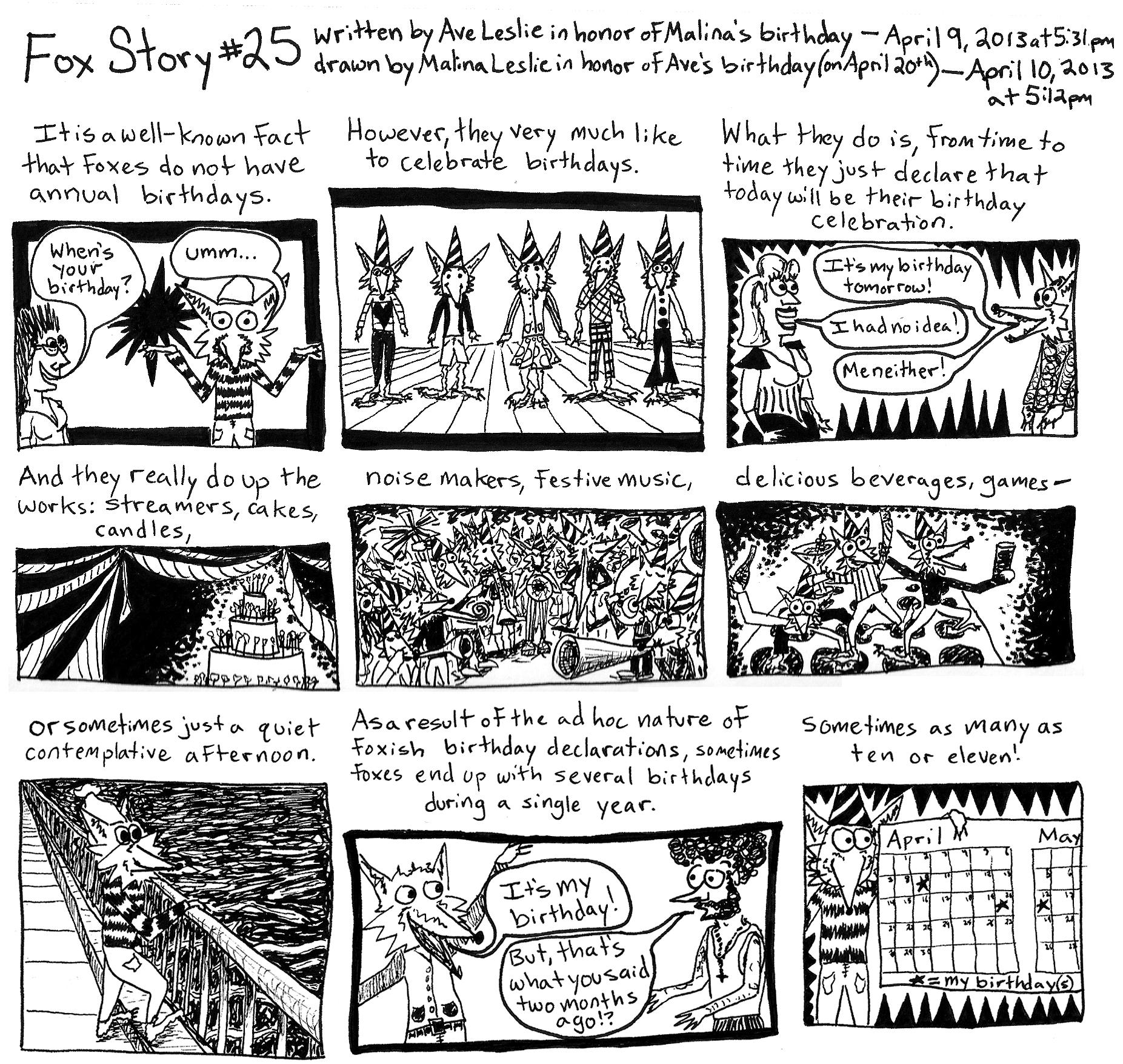 Fox Story 25 Part 1
