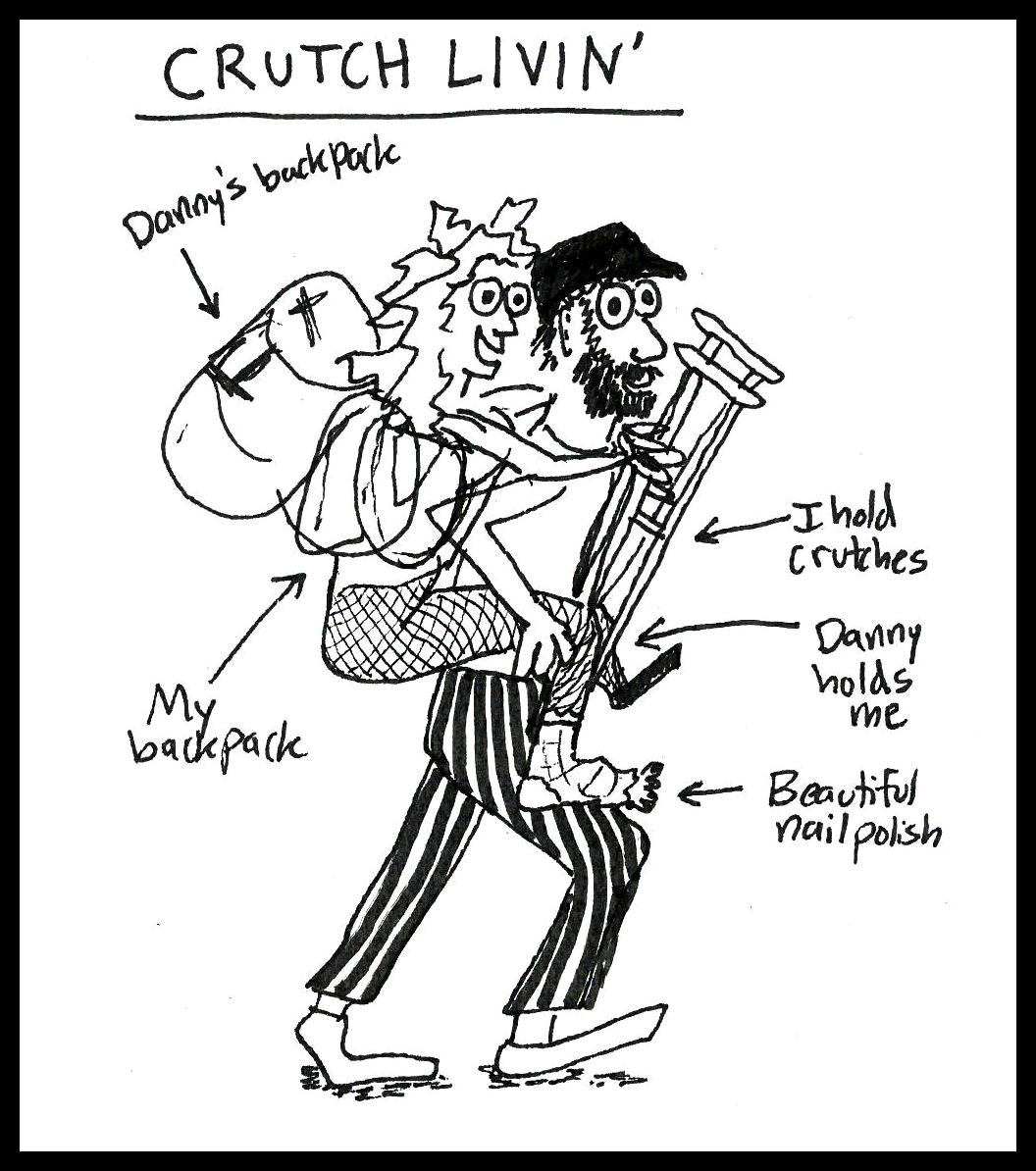 Crutch Livin' 1