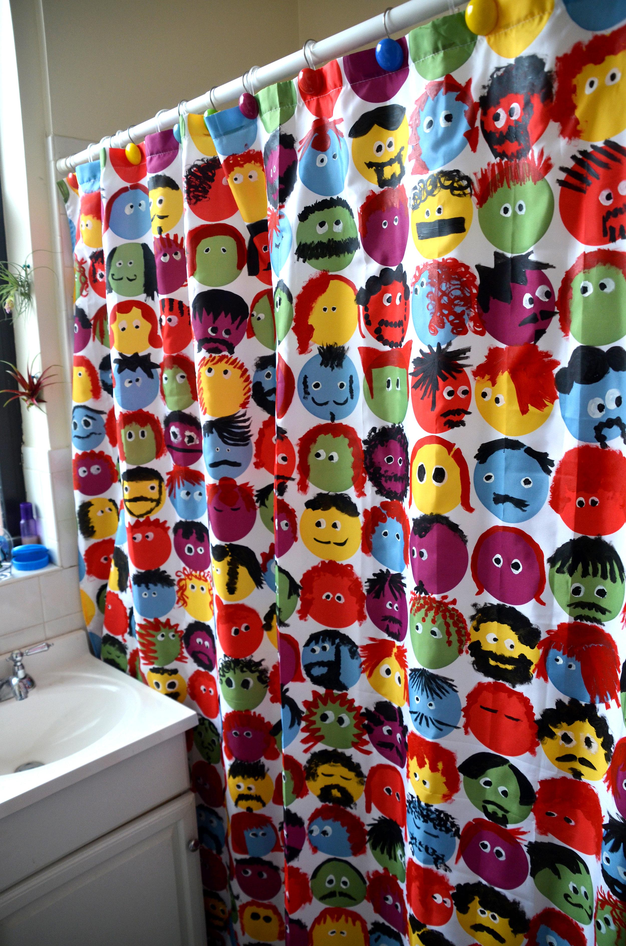 D&M Shower Curtain