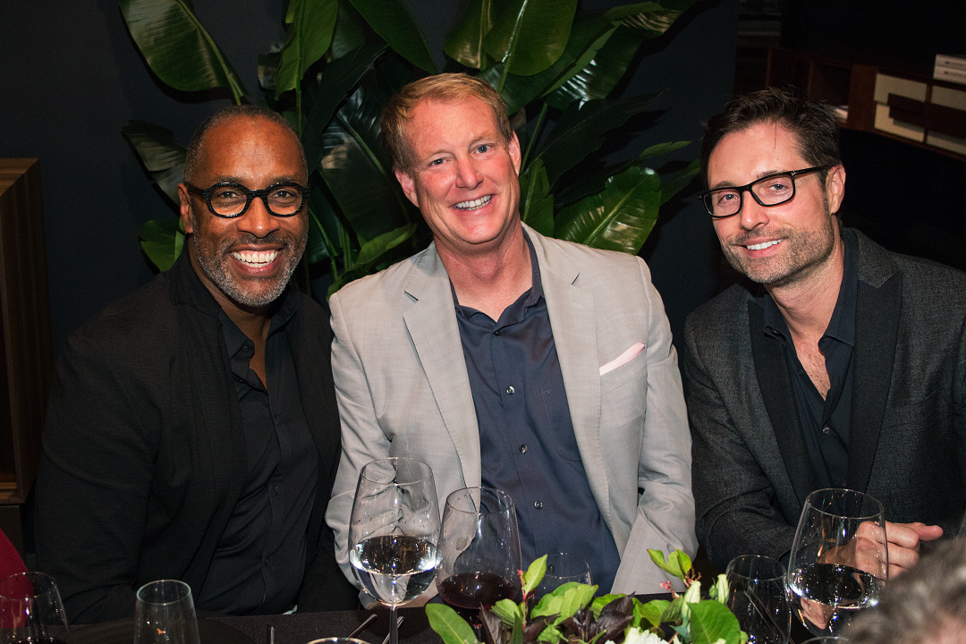 Ron Woodson, Dean Larkin, and William Mungall