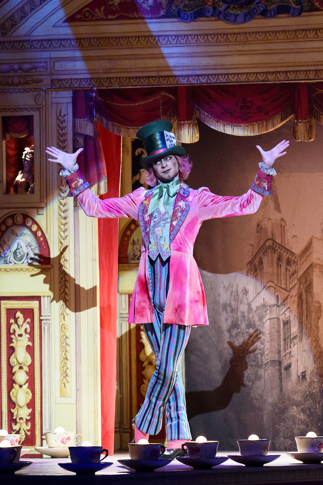 The incredible Mad Hatter!