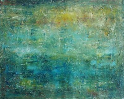 """Softly Whispering, 2012, acrylic on canvas, 16"""" x 20"""""""