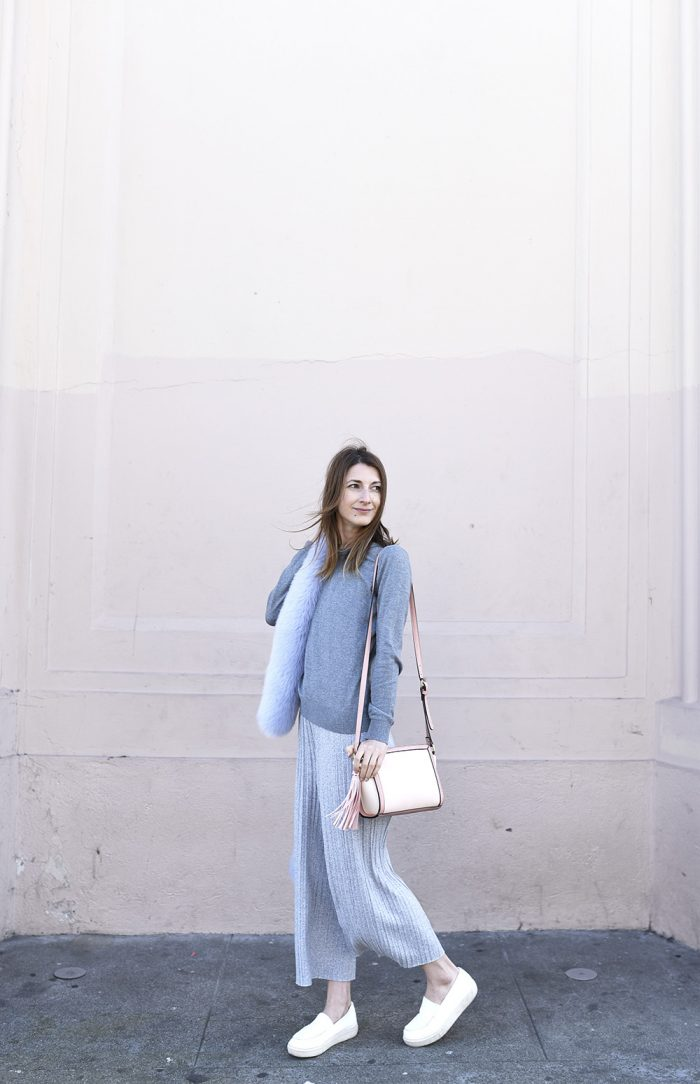 light-gray-culottes-fur-scarf-blush-baby-pink-outfit.jpg