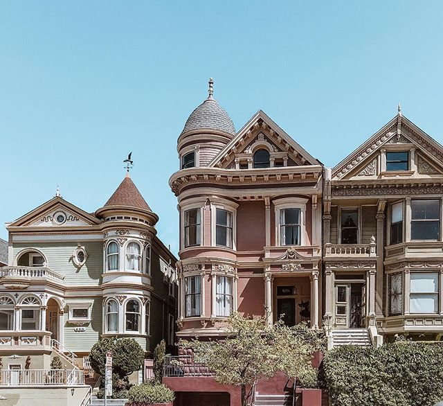 Cake houses - a San Francisco specialty ✨