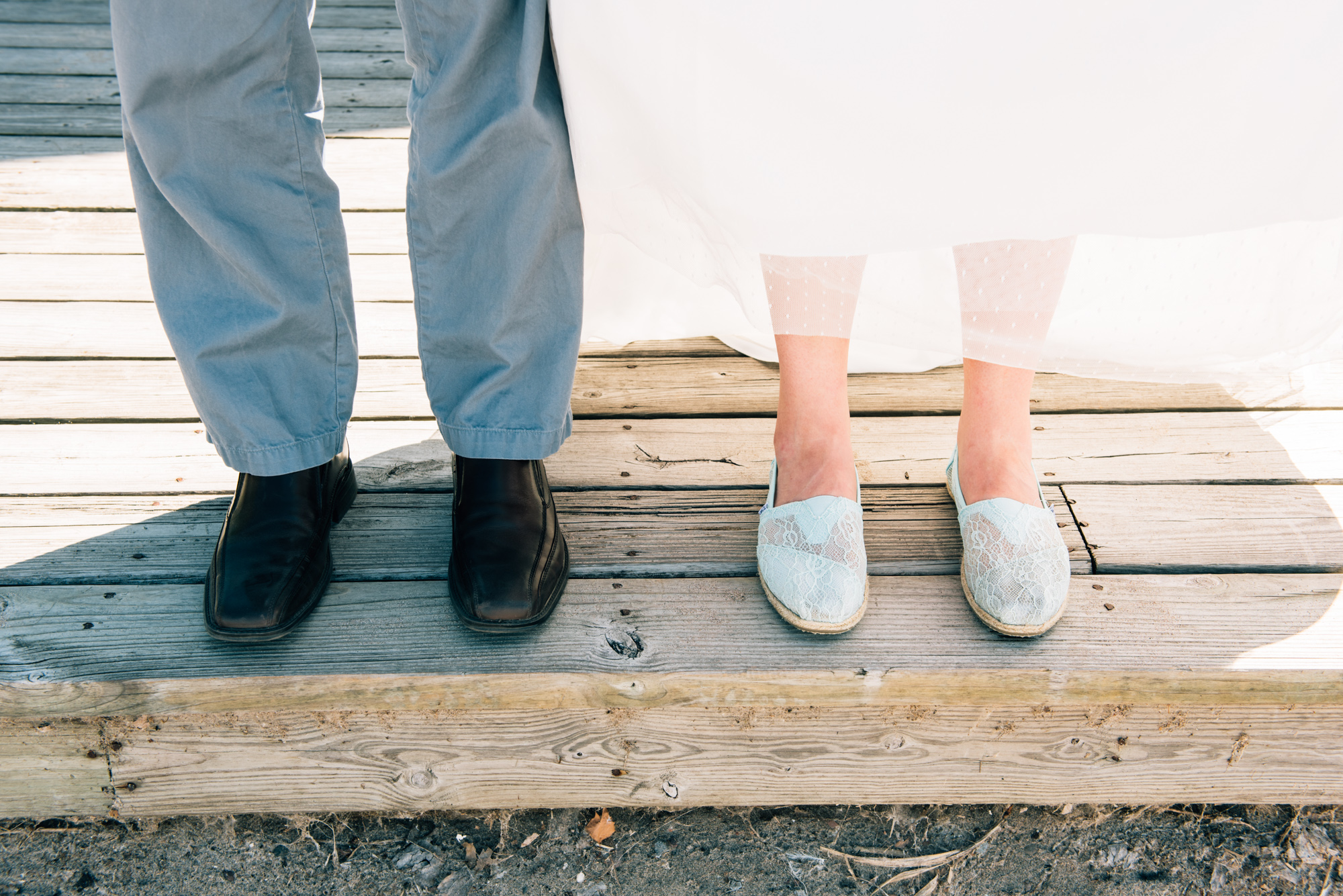 Groom and Bride's shoes