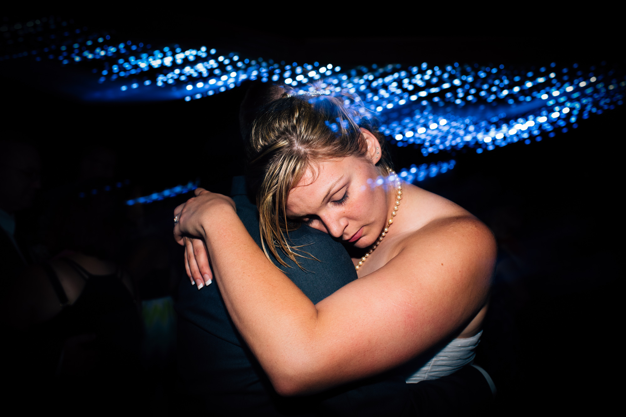 Bride slow dance