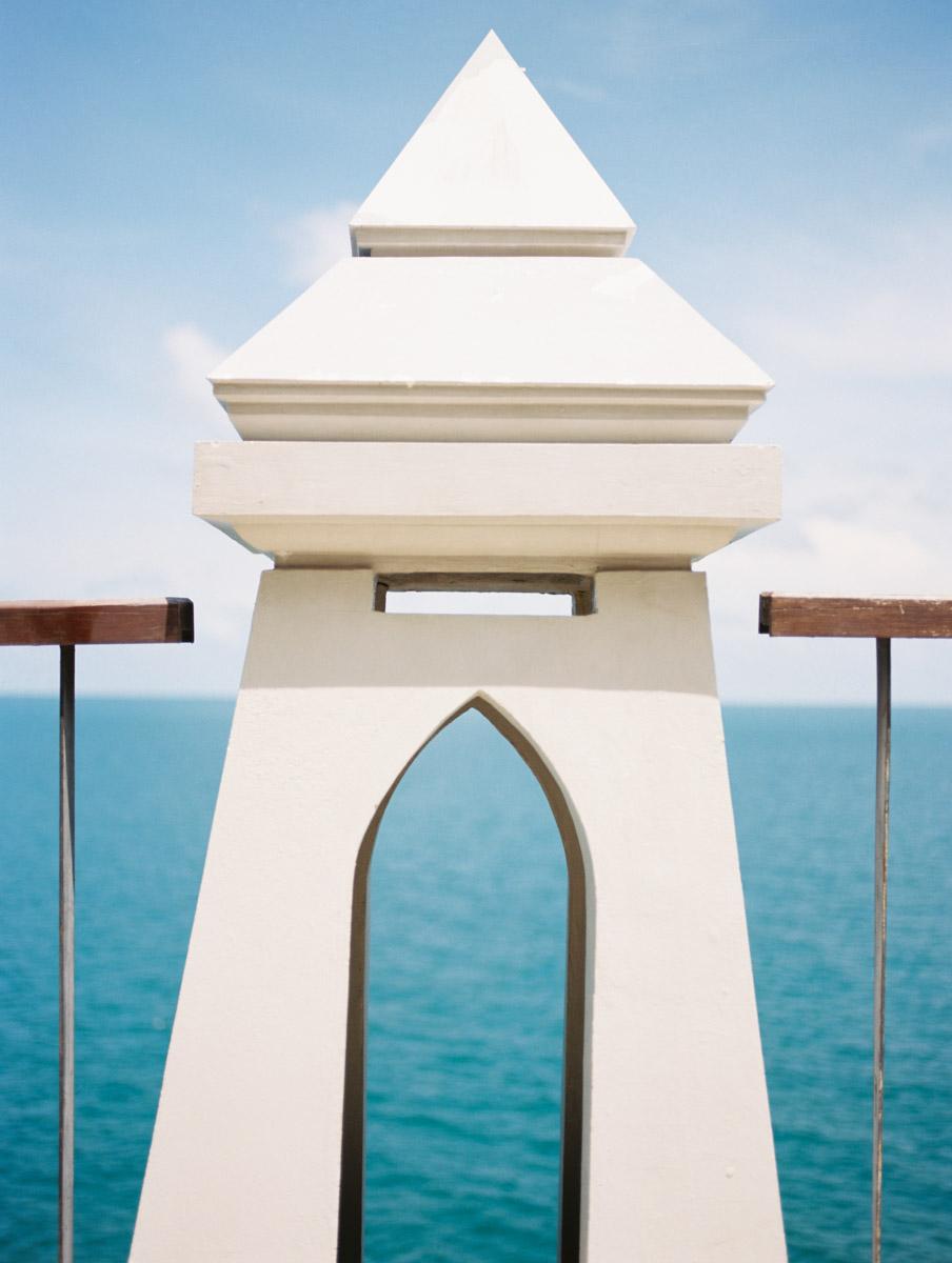 Pillar in the Blue