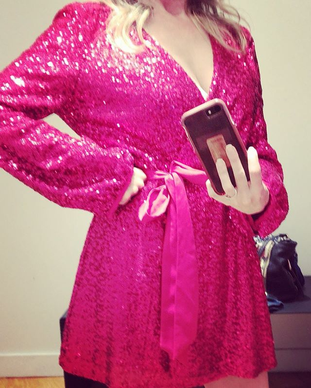 Dress for the job you want #fashion #glam #sparkly