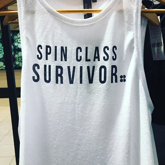 Not really… #nevertried #spinclass #fitness