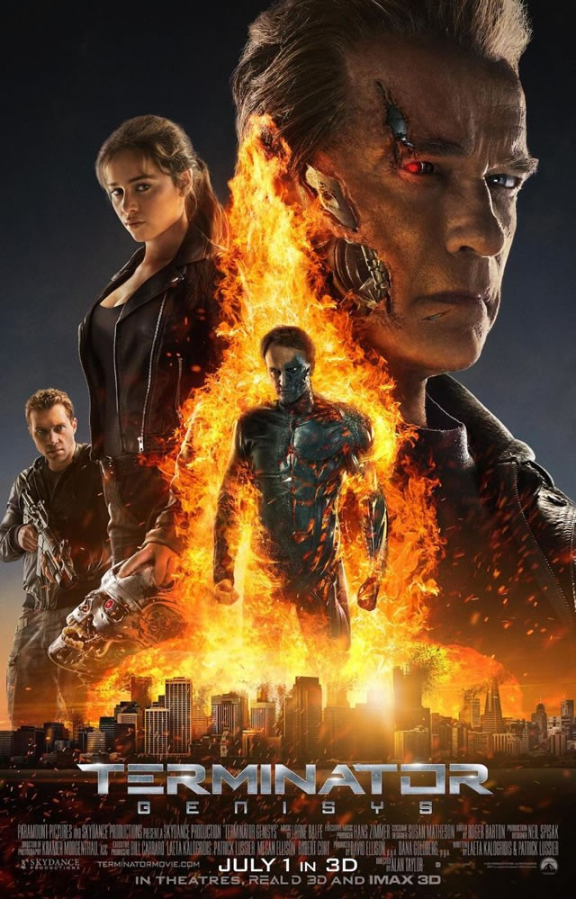 Terminator Genisys  (2015) Directed by Alan Taylor Additional Music by Andrew Kawczynski