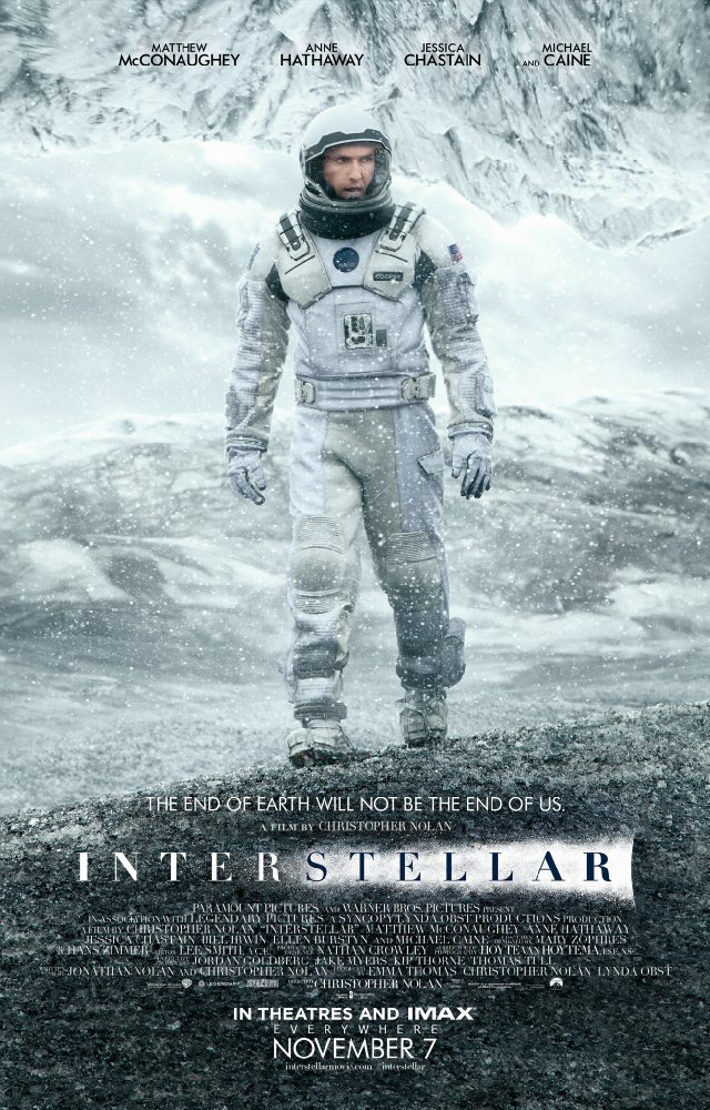 Interstellar  (2014) Directed by Christopher Nolan Sequencer Programming by Andrew Kawczynski