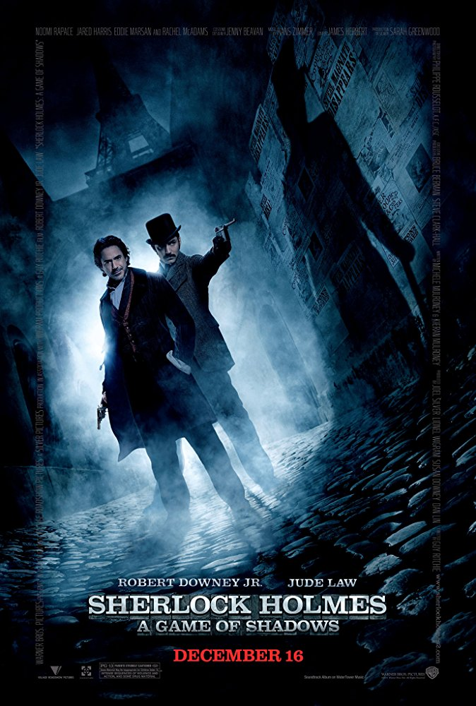 Sherlock Holmes: A Game of Shadows  (2011) Directed by Guy Ritchie Sequencer Programming by Andrew Kawczynski