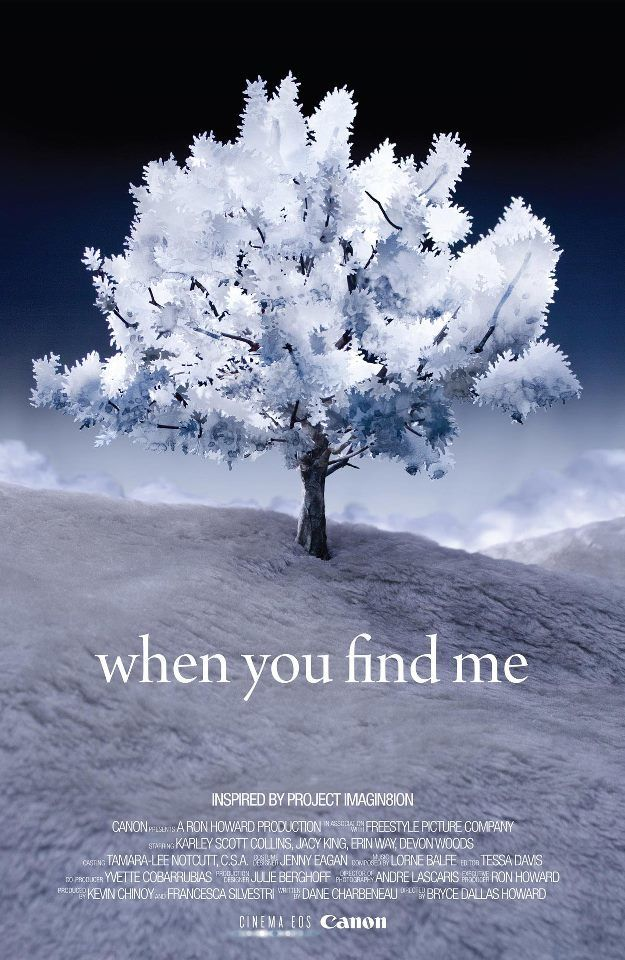 When You Find Me  (2011) Directed by Bryce Dallas Howard Additional Music by Andrew Kawczynski