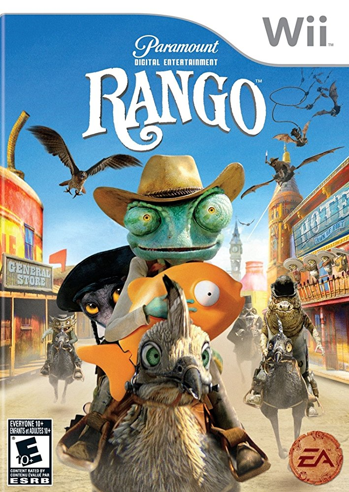 Rango  (2011) Directed by James Ward Byrkit Additional Music by Andrew Kawczynski