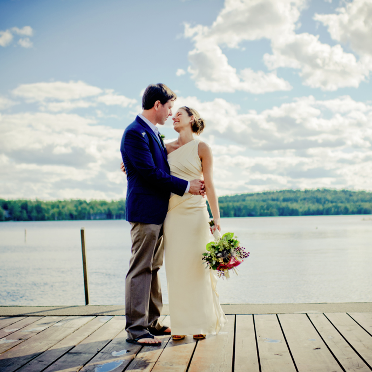 Hannah and Ryan Tie the Knot - New Hampshire