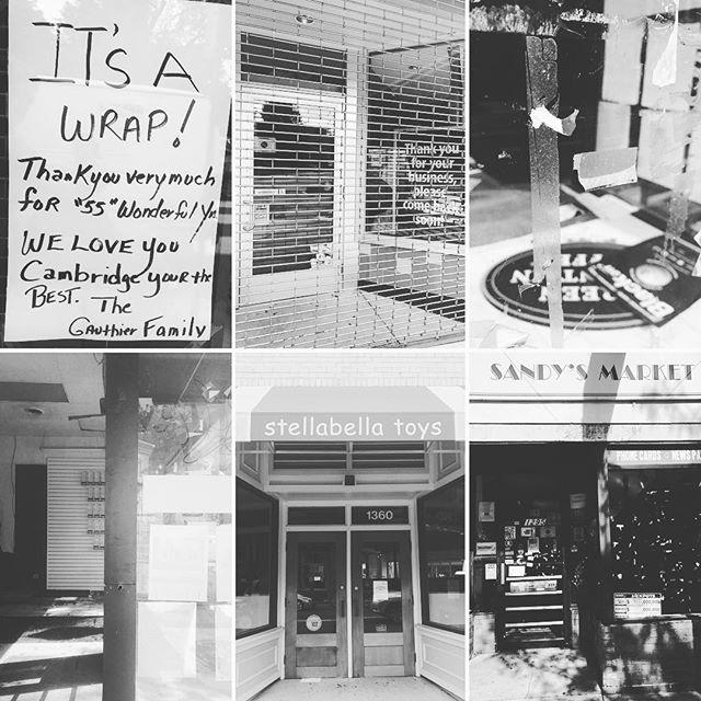#DarkStorefrontsMA in Cambridge, MA.