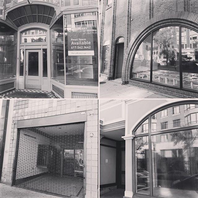 Boylston Street, Downtown Boston #DarkStorefrontsMA