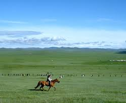The Steppes of Central Asia