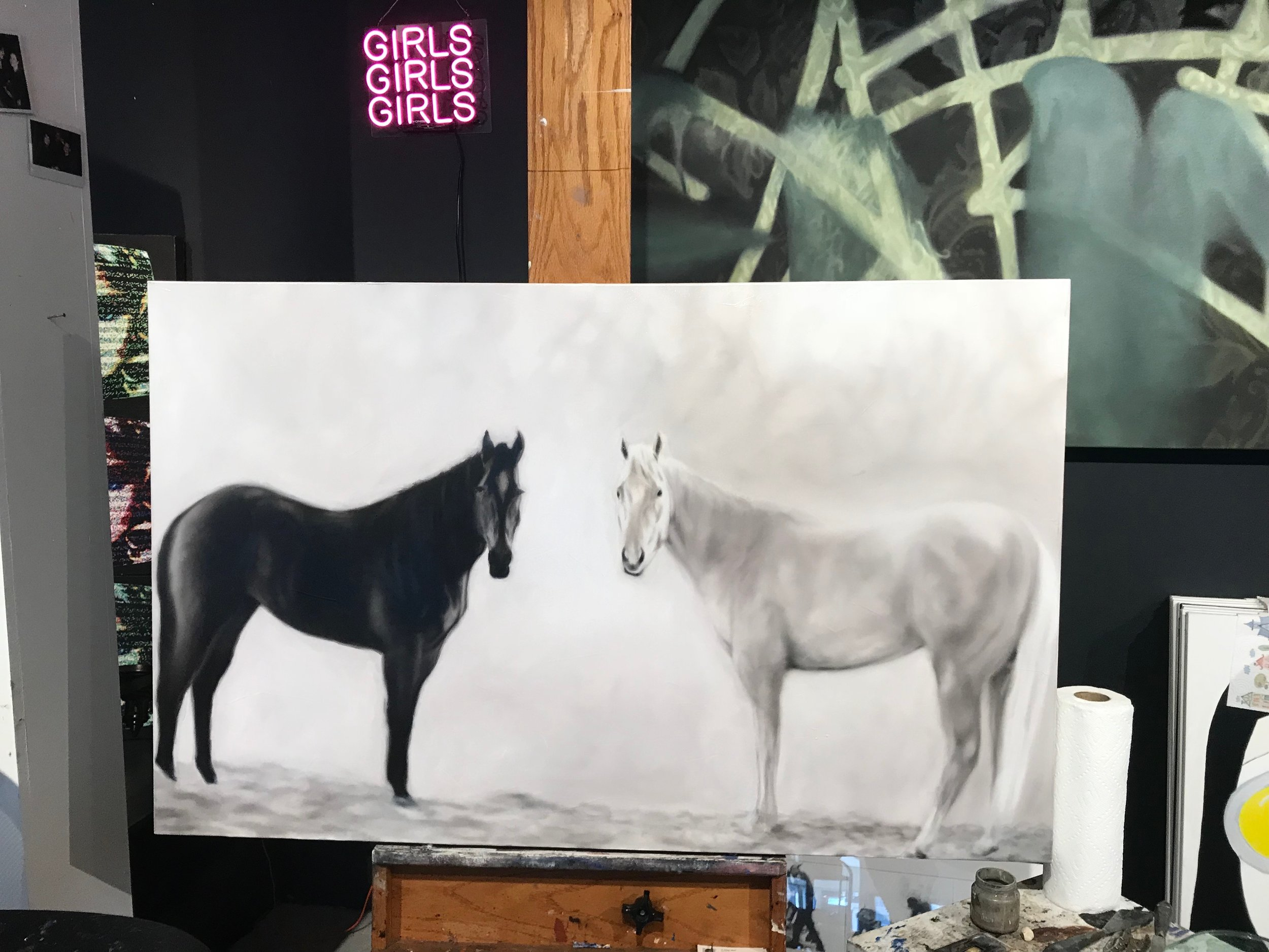 Twin Horse