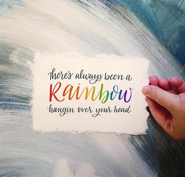 """My heart exploded hearing @spaceykacey """"rainbow"""" today. Have you heard this beautiful and touching song? Get ready for tears."""