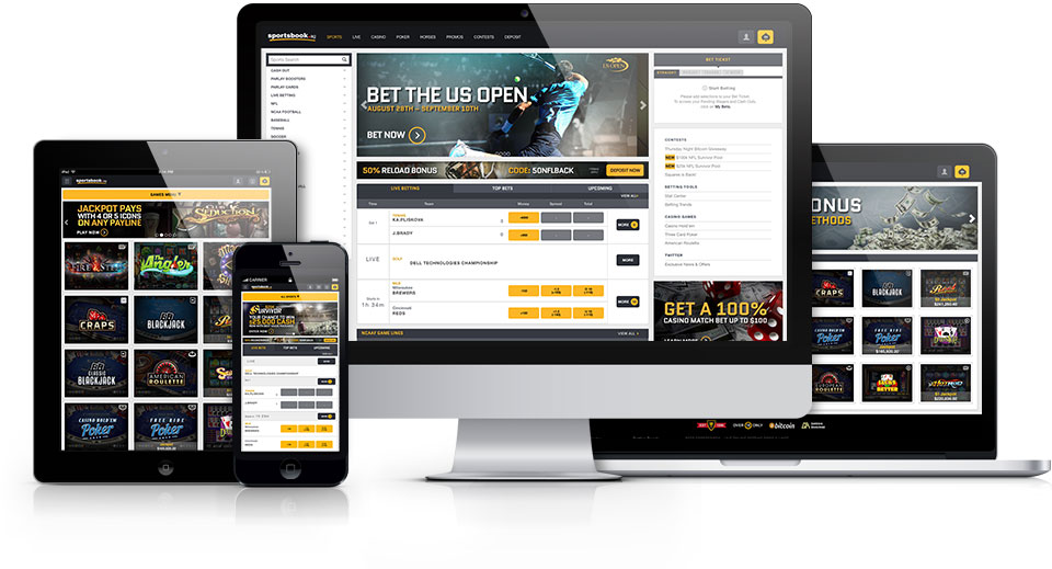 Sportsbook.ag     is a popular online gaming site with both desktop and mobile facing software.